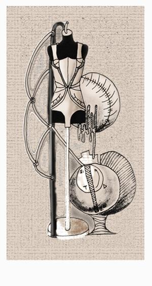 Marie Trampouli  Student Work // PANSiK // SCULA DI MODA - ART & DESIGN
