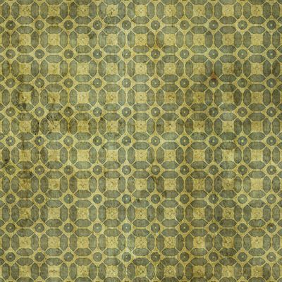Vintage pea green patterns 4