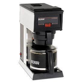 Bunn A-10 10-Cup Stainless Steel Commercial Coffee Maker 21250.0000