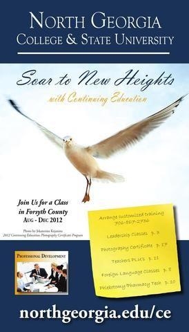 North Georgia College & State University Continuing Education Fall 2012 Catalog
