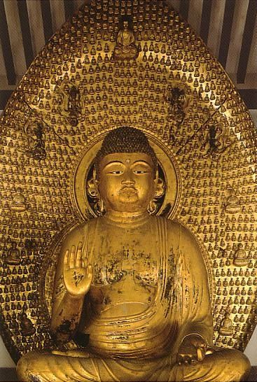 国宝 浄瑠璃寺 阿弥陀如来中尊像 National treasure Amitabha Buddha of Joruriji temple, Kyoto