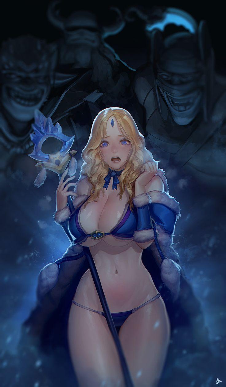 ArtStation - Crystal Maiden, dongjun choi