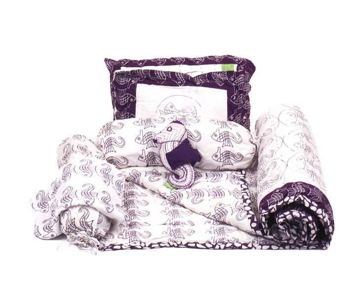 purple seahorse unisex baby bedding set.  Baby Quilt, baby pillows, baby toy.  Perfect for baby girl or baby boy.  Baby shower gift and new baby gift.  1st birthday gift