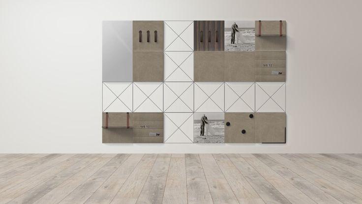 In mijn oude huis heb ik smalle muren en lage plafonds. Mijn ontwerp is gemaakt voor 4 verschillende muren in mijn slaapkamer @dock_four #dockfour