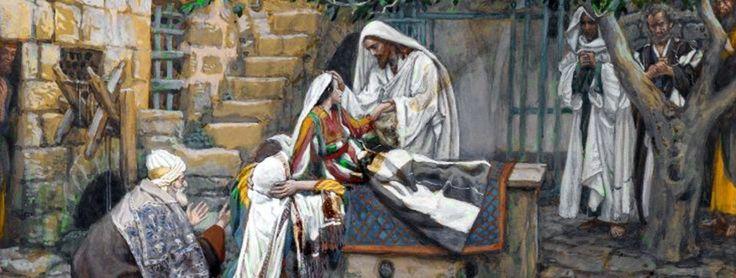 Mk 5, 21-43 Wskrzeszenie córki Jaira   Jezus Chrystus