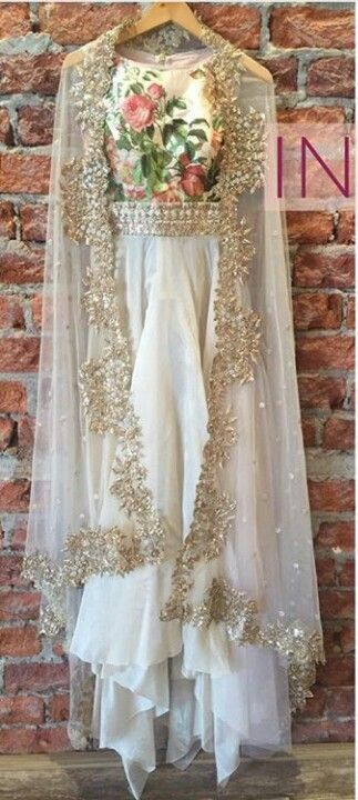 FatimaBi Plus size Fashion Indian Designer Anarkali Kameez White Partywear Dress #FatimaBi #AnarkaliKameez