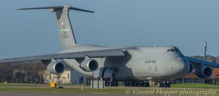 Lockheed C-5M Super Galaxy 85-0003 436th AW 512th AW Dover AFB at RAF Lakenheath | by vwhdkh ~ BFD