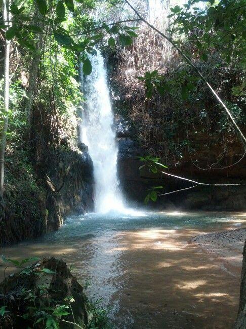 Cachoeira do Alemão - Mambaí/GO