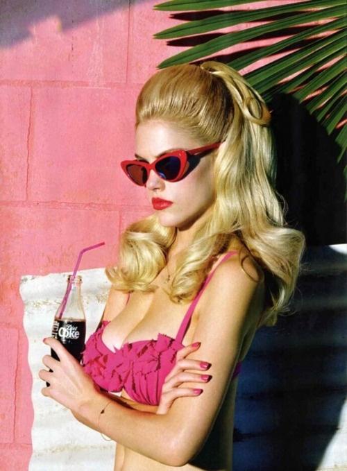 Pink ruffle bikini for the ultimate Malibu Barbie moment!