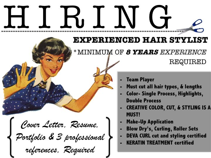 35 best Hair Posts u003c3 images on Pinterest Cambridge, Hair toupee - hair stylist cover letter