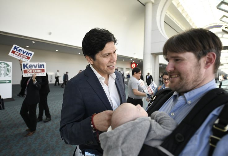 ICYMI: De León sharpens attack on Feinstein at state Democratic Party convention - SFGate