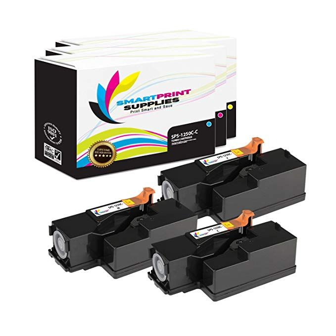 Smart Print Supplies Compatible 1250 1350 Toner Cartridge Replacement For Dell 1250c 1350cnw 1355cn 1355cnw C1760nw C1765nfw Toner Cartridge Toner Cartridges