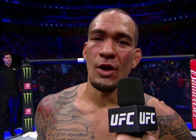 UFC 218: Yancy Medeiros Octagon Interview