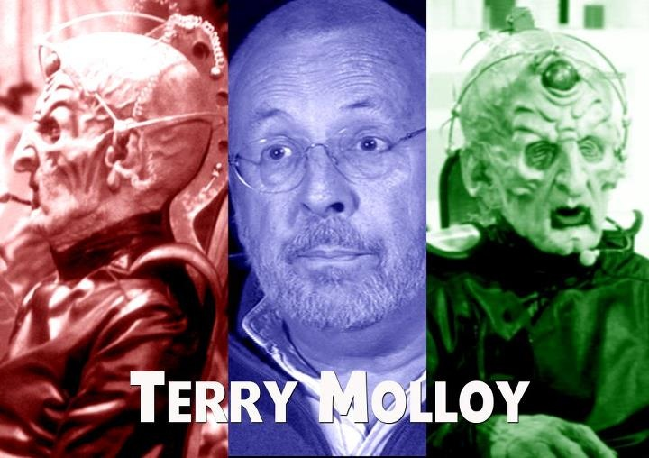 Terry Molloy is attending Whooverville 4 at QUAD in Derby - Terry played the Daleks' creator Davros in three Doctor Who stories during the 1980s – a role he has recently returned to for the Big Finish range of Doctor Who audio adventures. He is well-know to radio listeners as Mike Tucker in Radio 4's 'The Archers' and has portrayed the character since 1973. In 2009, he appeared as 'Eric Clapton' in an episode of 'Harry Hill's TV Burp'.