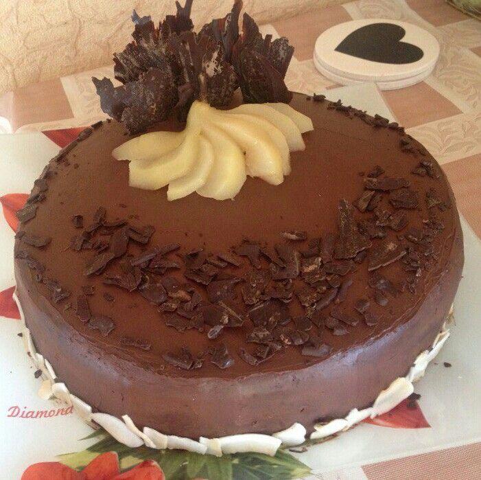 Пряная груша, карамель и шоколад. .идеально))