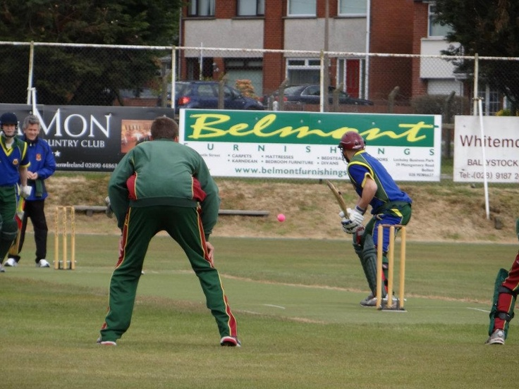Captain Ross Durity opens the batting for Cork County