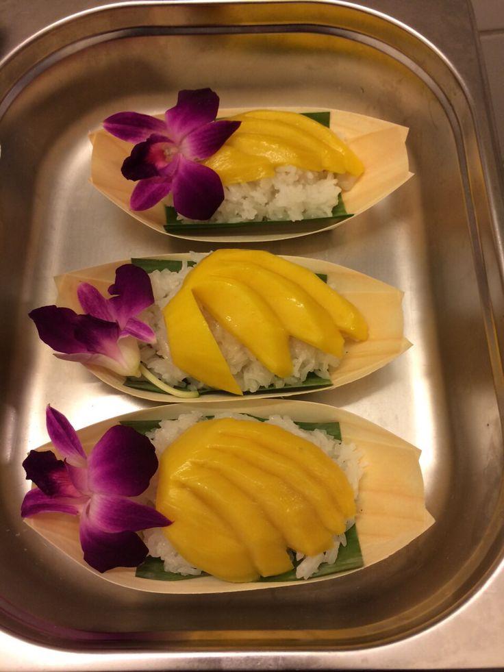 Mango Klebreis Dessert