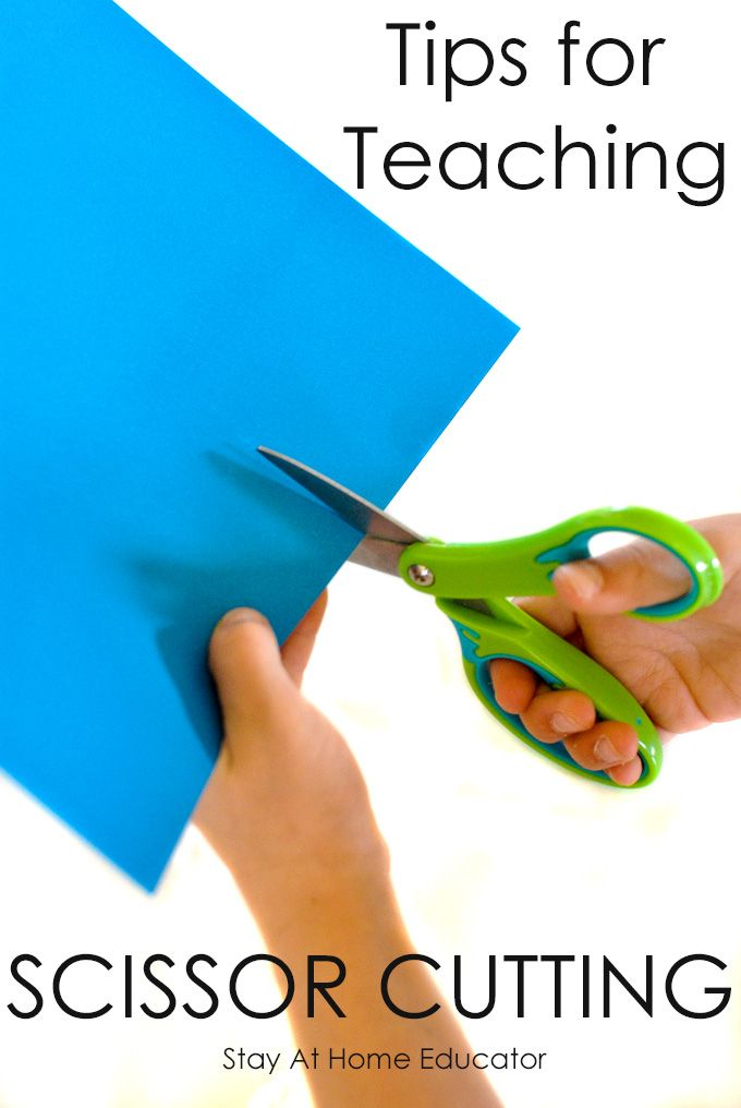 Scissor cutting requires coordination and dexterity. Follow these simple tips to make teaching your preschooler to cut with scissors a cinch!