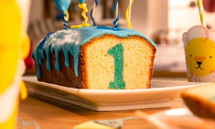 1. Geburtstagskuchen Rezept: Ein Zitronenkuchen mit toller Überraschung zum 1. Geburtstag - Eins von 5.000 leckeren, gelingsicheren Rezepten von Dr. Oetker!
