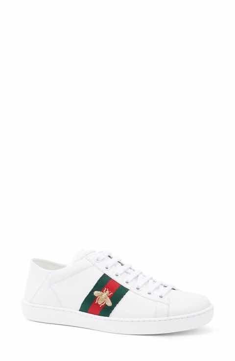 Gucci nuovo Ace Heel convertibile Sneaker (donne)