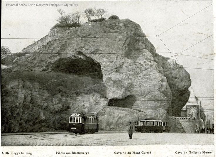 Gellérthegyi barlangok 1900 körül