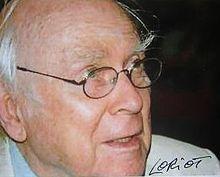 Loriot, bürgerlich Bernhard-Viktor Christoph-Carl von Bülow, kurz Vicco von Bülow (* 12. November 1923 in Brandenburg an der Havel; † 22. August 2011 in Ammerland am Starnberger See)[1] etablierte sich von den 1950er Jahren an bis zu seinem Tod in Literatur, Fernsehen, Theater und Film als einer der vielseitigsten deutschen Humoristen.