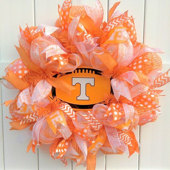 Tennessee Vols Wreath University of Tennessee Wreath