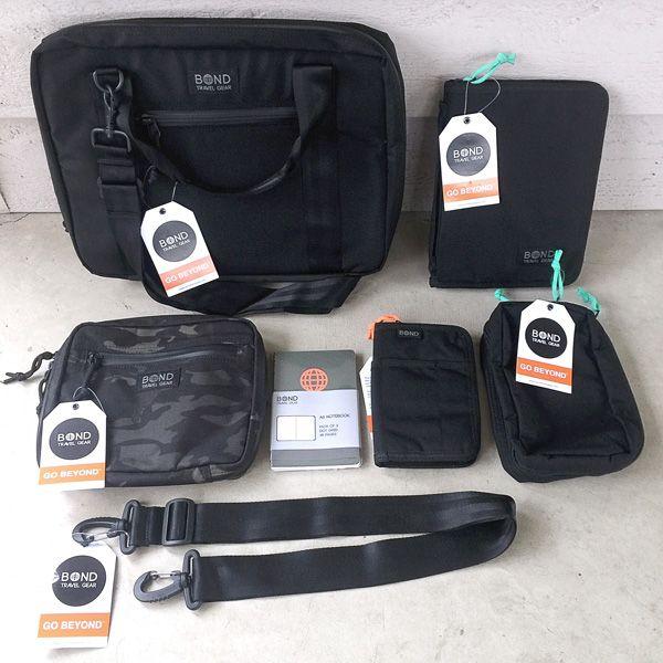 f16c5b2a1abd Bond Travel Gear Attache 13 Escapade Pouch Venture Pouch Field Journal and  Travel Wallet review