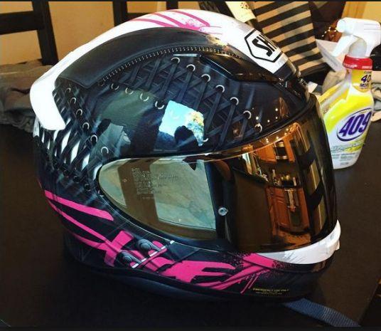 Shoei Seduction RF-1200 Street Bike Racing Motorcycle Helmet 2
