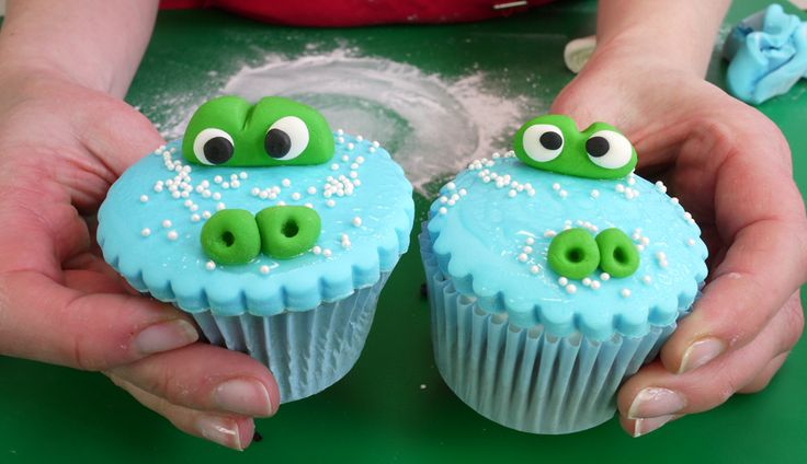Crocodile cupcakes                                                                                                                                                                                 More