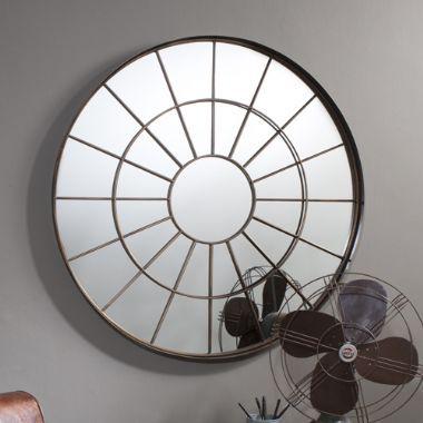 Battersea Round Wall Mirror - £129   brandinteriors.co.uk