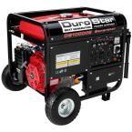 10,000-Watt Gasoline Powered Electric Start Portable Generator with Wheel Kit