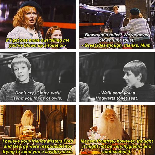 fred and george, haha