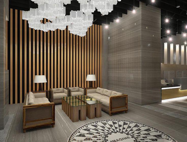 Як відомо, справжня краса криється у деталях. Ми приділили багато уваги як квартирам, так і суспільному простору NEW YORK Concept House. Адже ця територія – перше, що бачать гості комплексу. Саме тому ми зробили все можливе, щоб атмосфера Нью-Йорку панувала тут на всіх рівнях. Просторі холи, сповнені світла, яскрава рецепція, надійні ліфти…