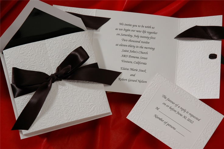 Invitation idea for red carpet party.