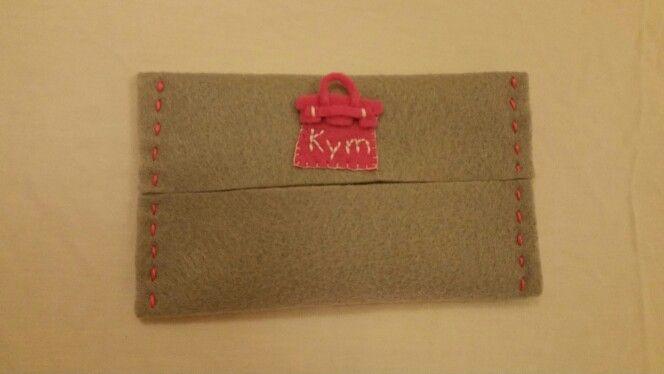 Felt tissue pouch - Birkin