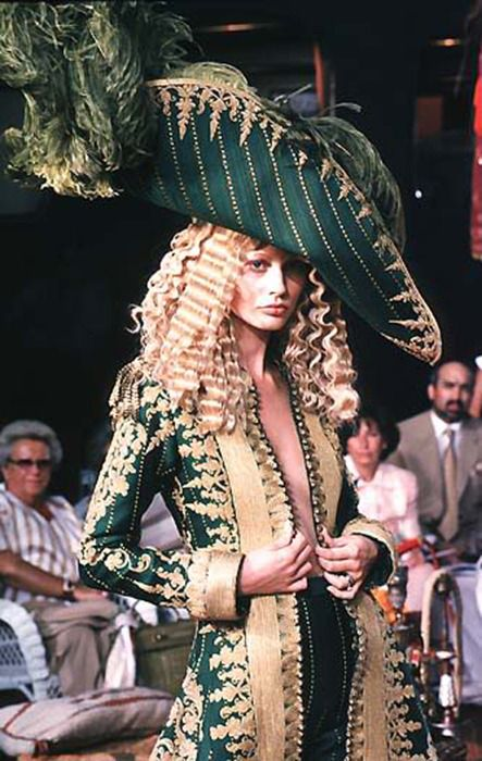 """Arrr, me hearties, here be treasure!"" Christian Dior Haute Couture by John Galliano - 1998"
