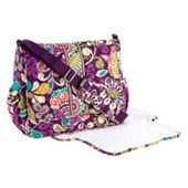 This is a Messanger Baby Bag from the wildly popular Vera Bradley!!  This one is a little pricey but it is a well spent purchase!! I pinned in the georgeous Plum Crazy!!!  I am Crazy for Plum Crazy!!  This bag is 88% recomended by consumers and is $82.60!!  Get yours at verabradley.com!!!!!!!!!!!