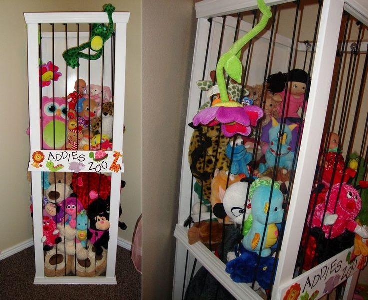 25+ Best Ideas About Stuffed Toy Storage On Pinterest