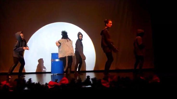 Crazy Sundays - crazy wolf - Magic New Year - Best ballet dance performance