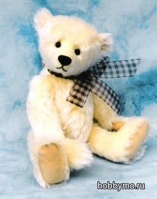 выкройка белого медведя