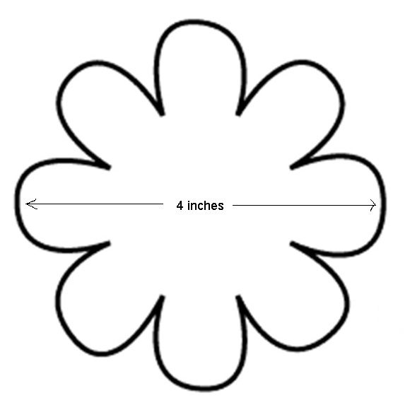51 best flower doodle images on Pinterest Flower, Flowers and Ideas - flower petal template