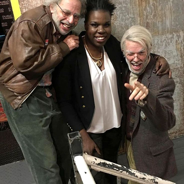 """<p>Oh, hello, Leslie! The <i>Saturday Night Live</i> cast member caught the show """"Oh, Hello on Broadway."""" She snagged a photo with stars Nick Kroll and John Mulaney and, it sounds like, a cameo: """"Had so much fun doing """"Oh hello on broadway.'"""" (Photo: <a rel=""""nofollow"""" href=""""https://www.instagram.com/p/BOsxwzLA4Ai/?taken-by=lesdogggg&hl=en"""">Instagram</a>) </p>"""