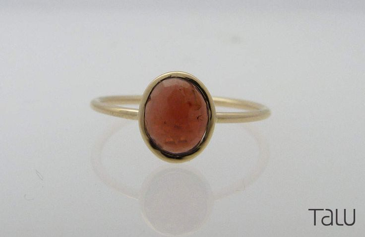 A personal favourite from my Etsy shop https://www.etsy.com/listing/510302128/yellow-gold-ring-stone-gold-ring-orange