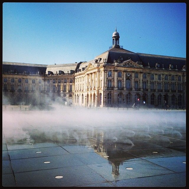 Miroir d'eau et place de la Bourse - Bordeaux