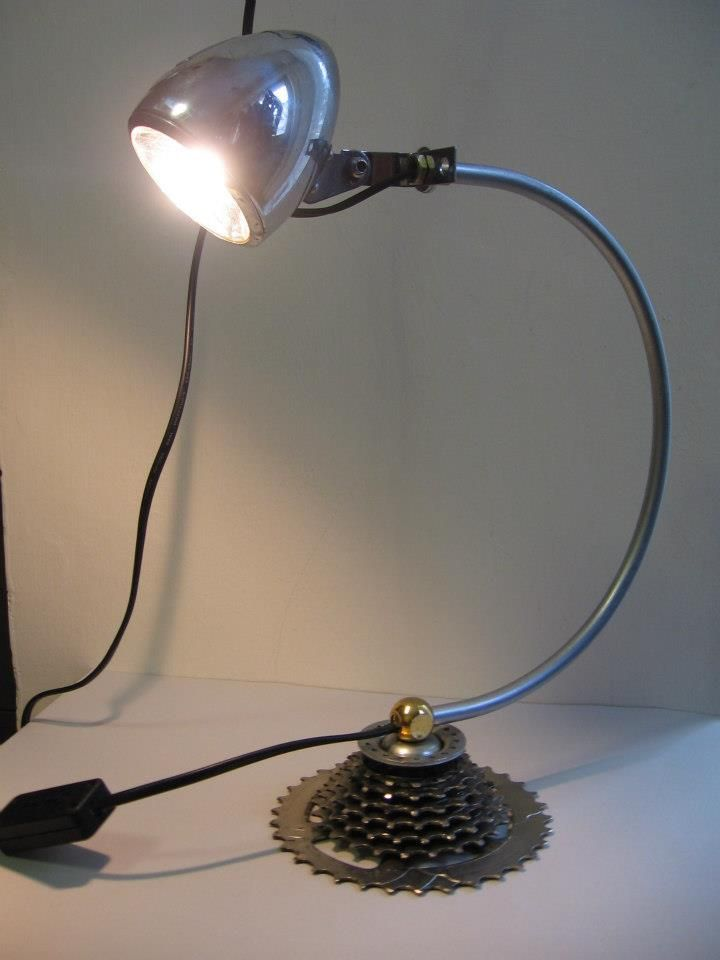 61 best Upcycled bicycle lamps and furniture by ilmecca produzioni ...