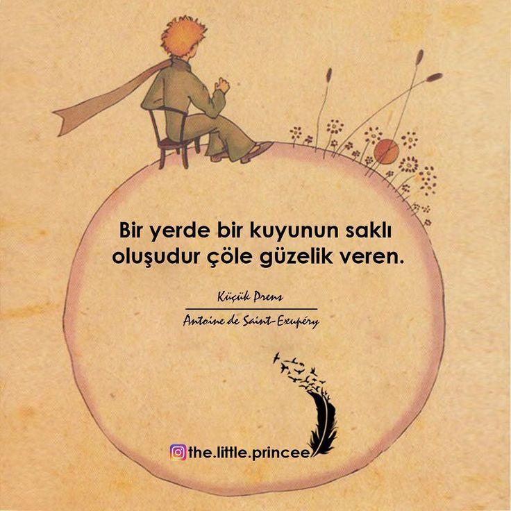 Bir yerde bir kuyunun saklı oluşudur çöle güzellik veren. - Antoine De Saint-Exupéry / Küçük Prens (Kaynak: Instagram - the.little.princee) #sözler #anlamlısözler #güzelsözler #manalısözler #özlüsözler #alıntı #alıntılar #alıntıdır #alıntısözler #şiir #edebiyat #kitap #kitapsözleri #kitapalıntıları #küçükprens #thelittleprince #lepetitprince