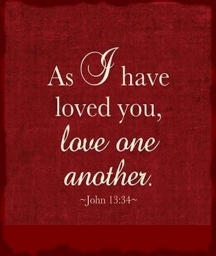 Love Each Other As I Have Loved You: 17 Best Images About Obeying God On Pinterest