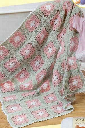 Magnolia Afghan--free pattern ✿Teresa Restegui http://www.pinterest.com/teretegui/✿