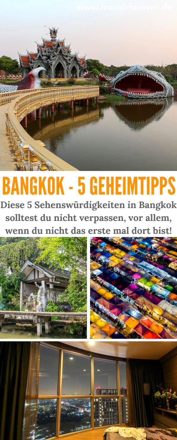 5 Bangkok Sehenswürdigkeiten und Orte, die nicht jeder Tourist kennt